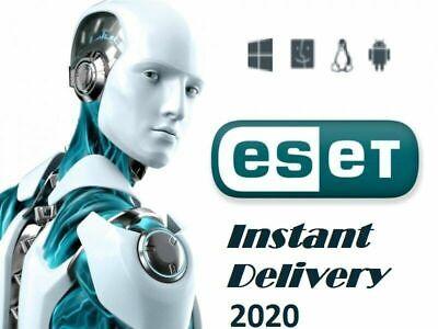 ESET nod32 Antivirus Internet Security 2021 / 1 year -1 PC ...