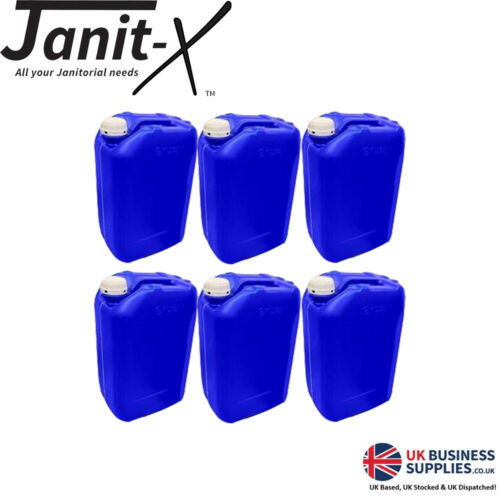 Water Storage,Brand new Jerry Can Janit-X EcoStacker Blue Drum /& White Lid 20L