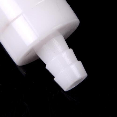 """2x 8mm 1//4 /""""Kunststoff Einweg Inline Rückschlagventil für Kraftstoff Diesel  ZBD"""