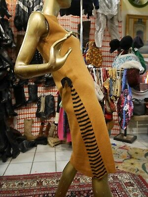 Creativo Abito S 50er Rockabilly Sexy Wollkleid True Vintage 50s Bodycon Dress Wiggle-mostra Il Titolo Originale Risparmia Il 50-70%