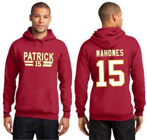 15 Details Jersey About Red Hooded Patrick Hoodie Mahomes Kansas Sweatshirt City New Chiefs