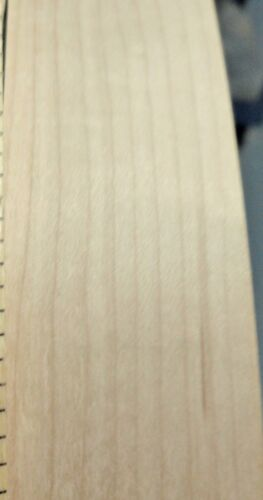 "Birch wood veneer edgebanding roll 3/"" x 120/"" with preglued adhesive hot melt"