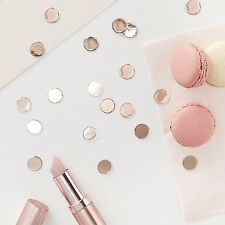 Rose Gold Table Scatter Confetti, Wedding, Hen Party Accessories, Baby Shower