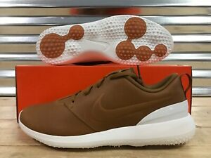 detailed look b4e74 62331 Image is loading Nike-Roshe-G-PRM-Premium-Golf-Shoes-Ale-