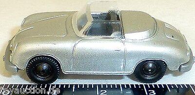 Model Building Alert Porsche 356 Cabriolet Silver Metallic Imu Euromodell 1:87 H0 Å Gc1 Quell Summer Thirst Toys, Hobbies