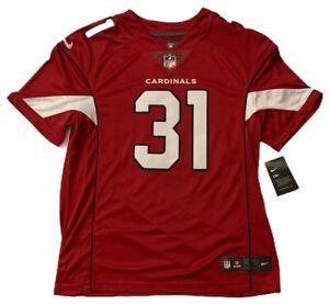 Details about AUTHENTIC ARIZONA CARDINALS #31 DAVID JOHNSON NIKE NFL STITCHED JERSEY MENS Sz L