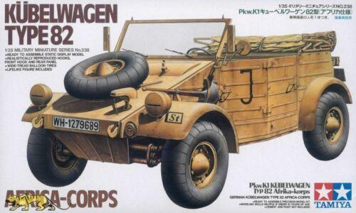 Kübelwagen Typ 82 Afrika Korps Tamiya 35238 1:35