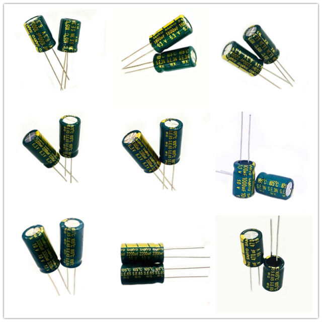 Various Values Voltage 10pcs 50pcs x SMD//SMT Aluminum Electrolytic Capacitor