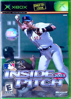 Mlb Inside Pitch - Microsoft Xbox - 2003 - Still Sealed