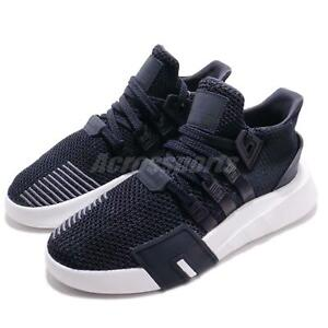super popular 6d836 1c5f1 Details about adidas Originals EQT Bask ADV W Night Grey White Women  Running Shoes B37547