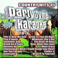 Various Artists, Par - Party Tyme Karaoke : Country Hits 15 [new Cd] on Sale