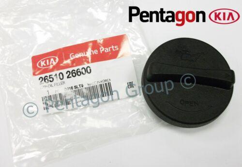 New Genuine Kia Niro Soul Carens Sorento Optima Oil Filler Cap 2651026600