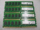 Crucial CT25672AA667 M18FE 2GB 240 PIN UNBUFF DIMM 256x72 DDR2 PC2-5300 LOT OF 4