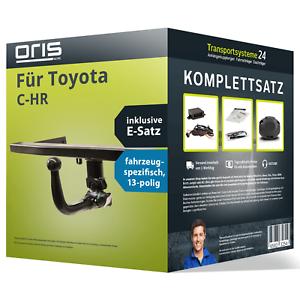 Anhaengerkupplung-ORIS-abnehmbar-fuer-TOYOTA-C-HR-E-Satz-Kit-NEU