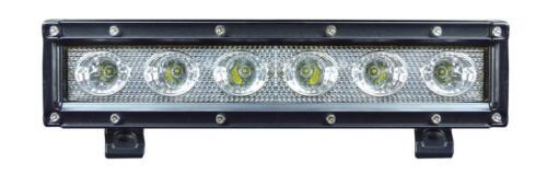 "Pioneer 500 1000 TOTRON 10/"" Single Row 30W Flood beam LED light bar #TLB1030"