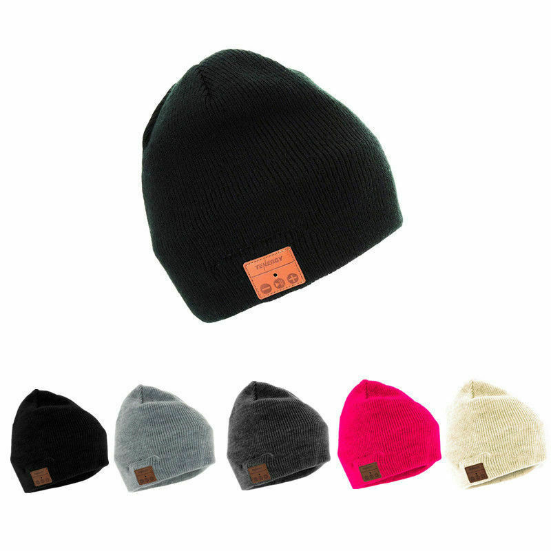 31df82409121e Tenergy Bluetooth Beanie With Basic Knit Color Black for sale online ...