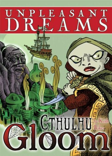NEW Cthulhu Gloom Card Game Expansion Atlas Games