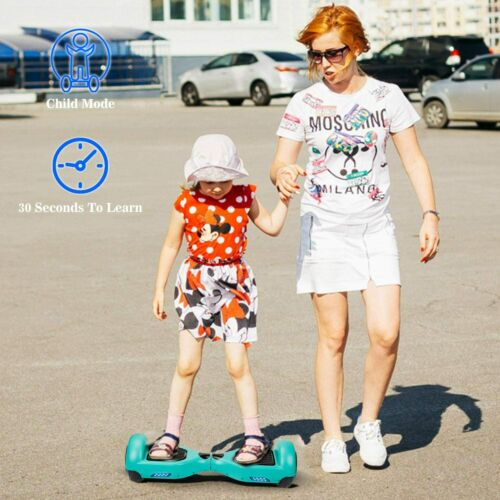 Details about  /Electric Hoverboard Self Balancing Scooter LED Flash UL2272 no Bag Birthday Gift