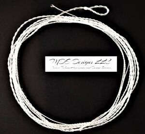 Clear Fluorocarbon Furled Leader 84 Inch 10-12 WT Tippet Ring