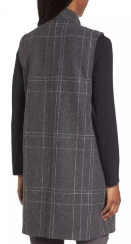 Blend Eileen Ash Flannel New Uld Fisher Vest Long Dark Vindues Xl y5A0WcwIqw