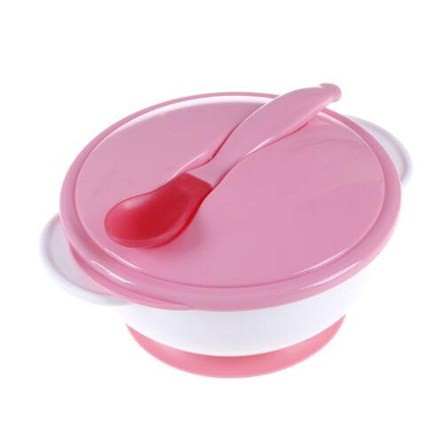 Baby-Saugnapf-Set rutschfestes Geschirr mit Tastlöffel CL