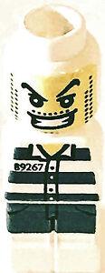 La figure de LEGO Micro - méchant / pack de voleur de 2 de set 3865