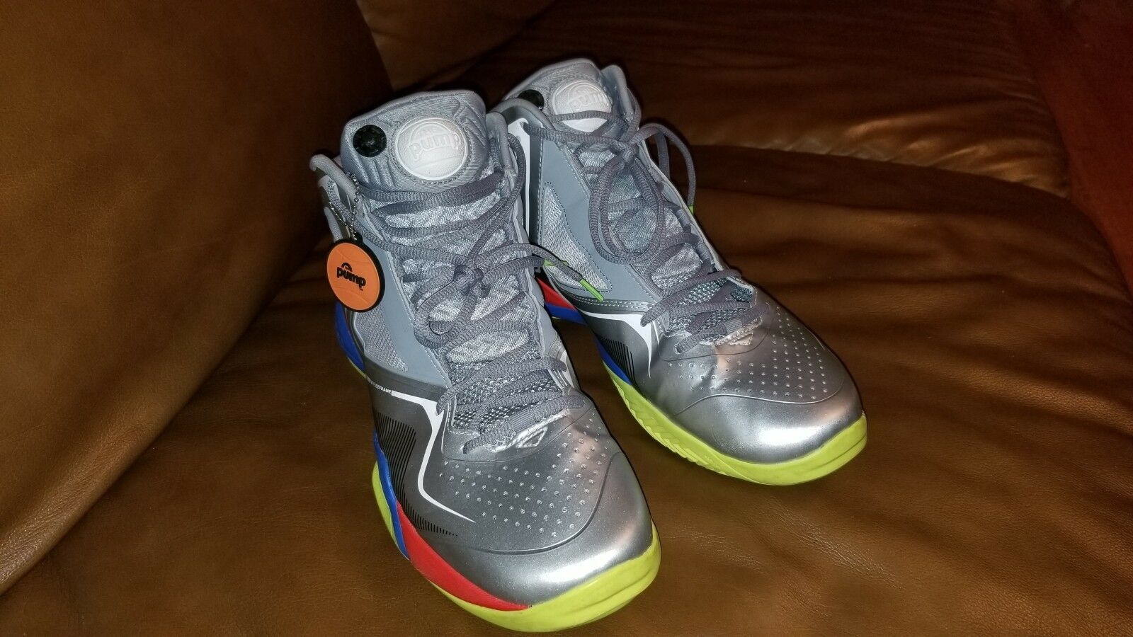 Reebok PUmpspective Omni Sneaker (Silver) - V52895Sz-12