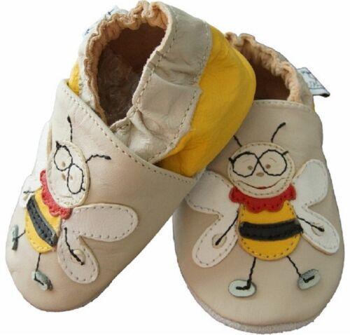 Leder Schuhe Puschen Hausschuhe Größe XXXL 27 28 Echtleder NEU