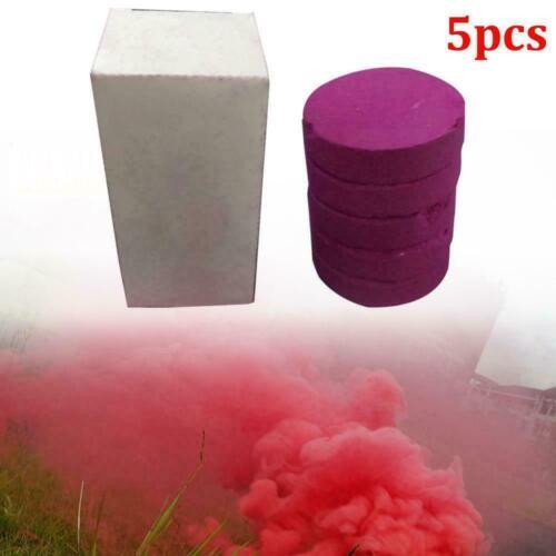 For Photography Smoke Effect Round Smoke Gender Reveal 5PCS Colored Smoke Bomb