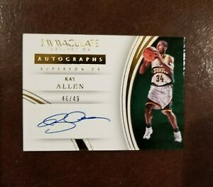 2015-16-Ray-Allen-Autograph-Card-Immaculate-Collection-46-49