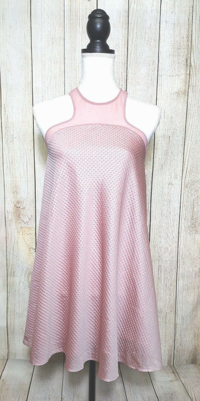 Urban Outfitters damen Dress Rosa Rosa Racerback Silence Noise Größe Xtra Small