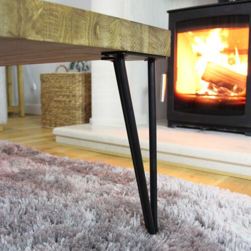 4 x 40.cm Hairpin Legs Tischbeine Stuhlbein Möbelfuß Möbelbeine 2 Streben 10mm D
