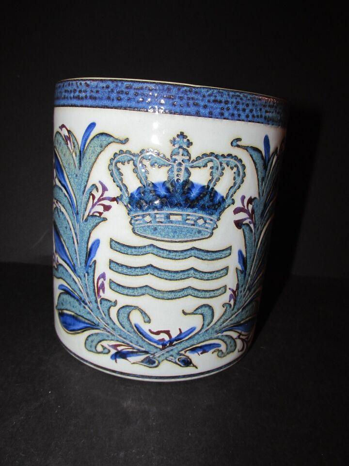 Fajance, Jubilæumskrus, Royal Copenhagen