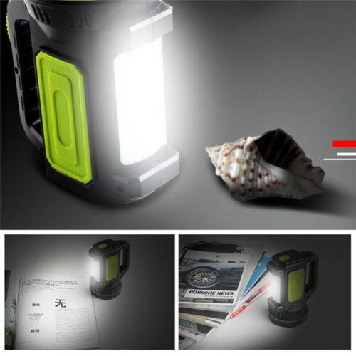 Super Bright LED Searchlight 135000LM Rechargeable Handheld Spotlight Flashlight