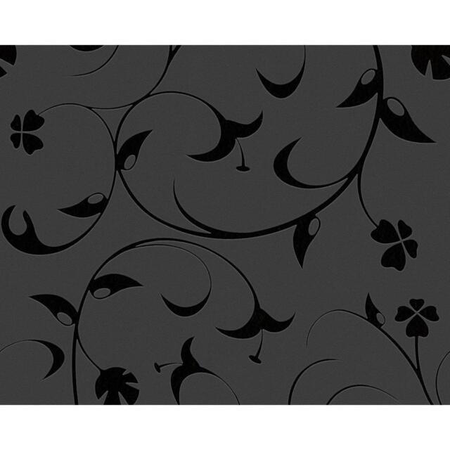 AS Creation Fleece Floral Leaf Pattern Wallpaper Modern Embossed Textured 567123