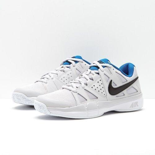 Nike air vapore vantaggio grigio bianco nero blu e scarpe da ginnastica 599359 044 dimensioni