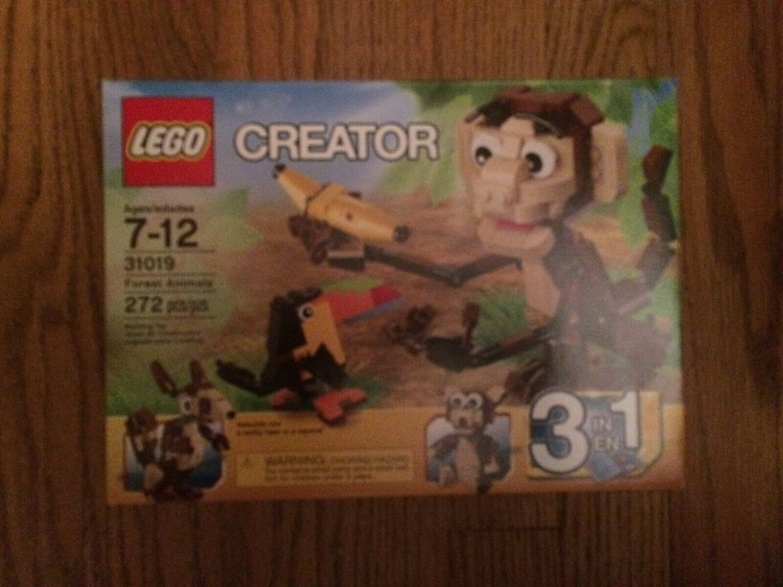 LEGO 31019 Forest Animals From Creator Series New in sealed box