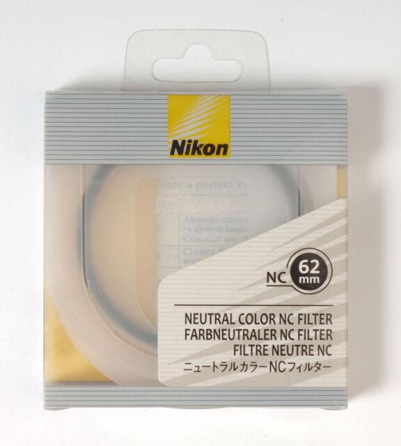 Nikon NC Neutral Color filter protection UV 62mm Kamera Farbfilter UV-Schutz