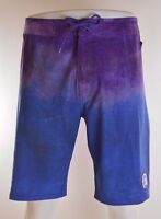 2015 Mens Element Tie Dye Boardshorts $50 32 Royal Swimsuit Swimming