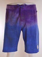 2015 Mens Element Tie Dye Boardshorts $50 32 Royal Swimsuit Swimming