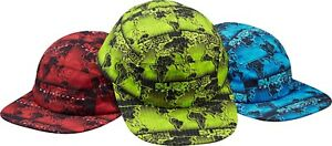 df7eb8a803d SUPREME World Famous Taped Seam Camp Cap Red Green box logo tnf S S ...