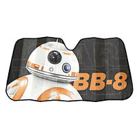 Star Wars Bb-8 Accordion Windshield Sun Shade Visor Car Truck Suv 58 X 27