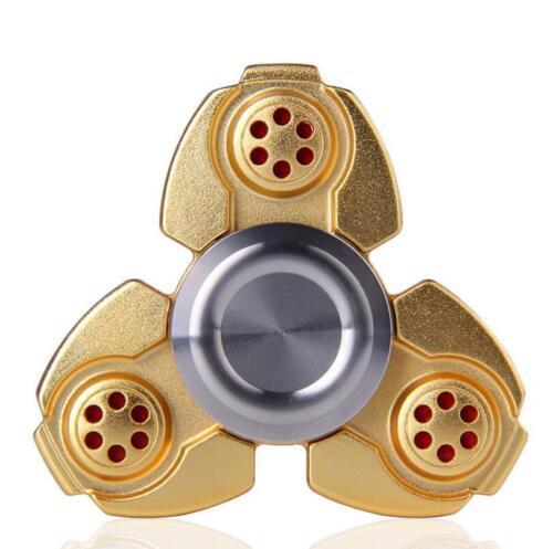 Fidget Finger Spinner Focus Ultimate Spin Copper Aluminum Rainbow EDC Stress Toy