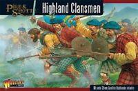 HIGHLAND CLANSMEN- PIKE & SHOTTE - WARLORD GAMES - SENT FIRST CLASS - BNIB