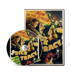 Details about Dick Tracy: Detective (1945) Action, Crime, Film-Noir Movie  on DVD