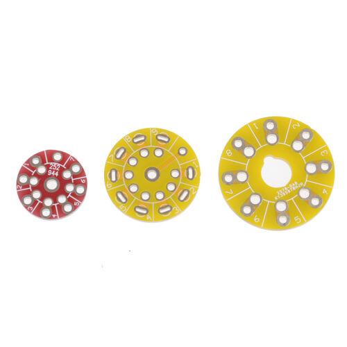 PCB board adapter circuit for cmc small 7pin//big 8pin//small 9pin tube socketIJH$