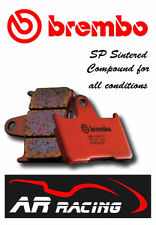 Brembo SP Sintered Rear Brake Pads to fit Honda CBR 600 RR ABS 2007-2012