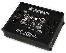 Peavey IA 10/4 2-Channel Problem Solver for Interfacing and Level Matching, New!