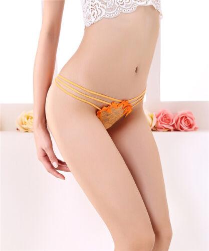 Women/'s Lingerie G-string Briefs Underwear Panties T string Thongs Knick US