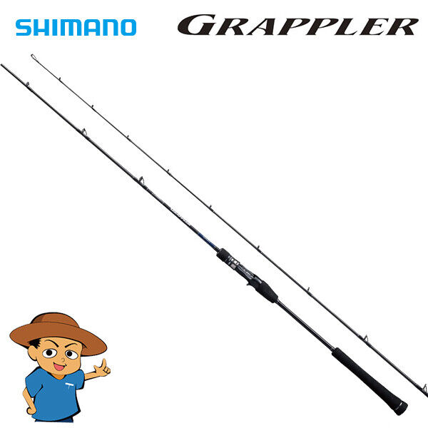 Shimano GRAPPLER type LJ B63-2 fishing baitcasting rod 2018 model